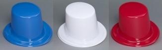 chapeau haut de forme bleu blanc ou rouge soir e deux ou entre amis dans une ambiance et une. Black Bedroom Furniture Sets. Home Design Ideas