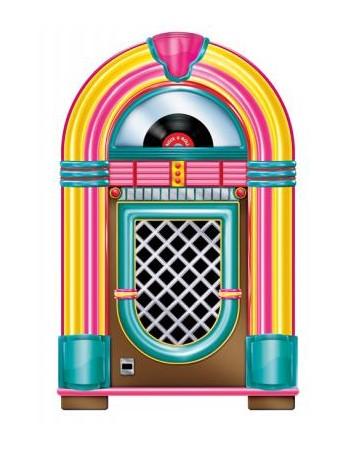 nouveau juke box geant carton de 90 cm soir e deux ou entre amis dans une ambiance et une. Black Bedroom Furniture Sets. Home Design Ideas