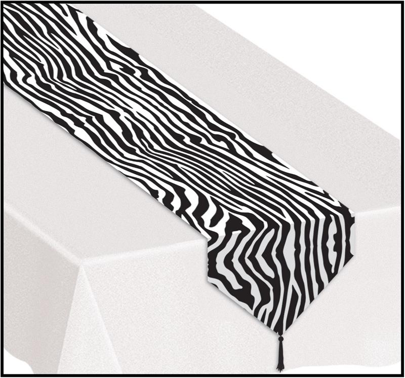 déco table zebre