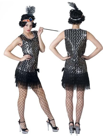 robe charleston argent noir ann es 20 soir e deux ou entre amis dans une ambiance et une. Black Bedroom Furniture Sets. Home Design Ideas