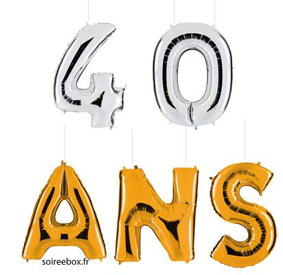 ballons geants 40 ans soir u00e9e  u00e0 deux ou entre amis dans usa clipart clipart usa clip art images