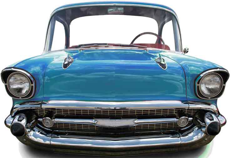 figurine geante voiture bleu annees 50 soir e deux ou entre amis dans une ambiance et une. Black Bedroom Furniture Sets. Home Design Ideas