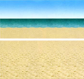 Decor Plage Ocean Haut 12 X 910 Mètres