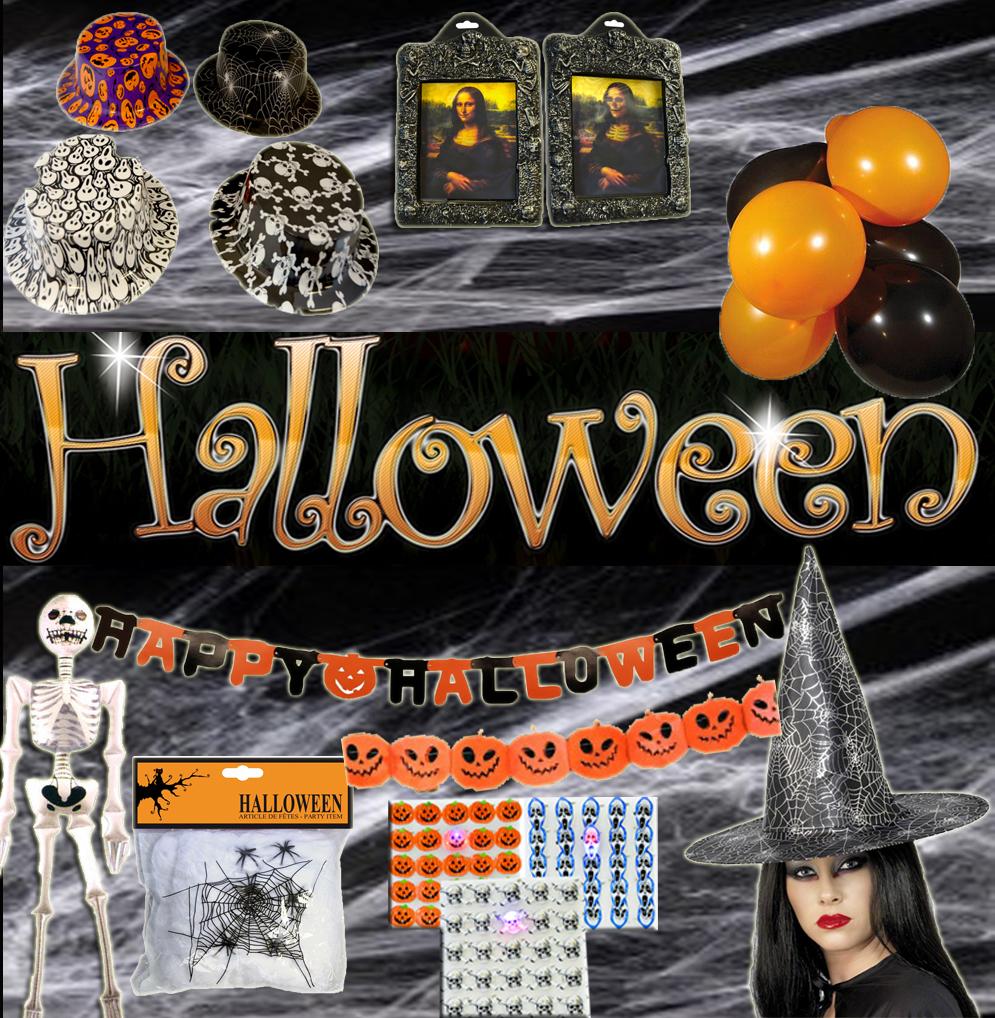 Kit Déco Et Accessoires Halloween