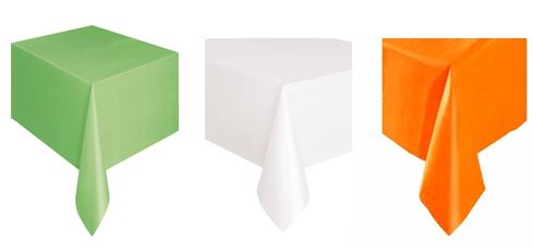 nappe plastique verte blanche ou orange soir e deux ou entre amis dans une ambiance et une. Black Bedroom Furniture Sets. Home Design Ideas