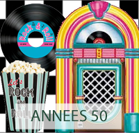 ANNEES 50-60 GREASE