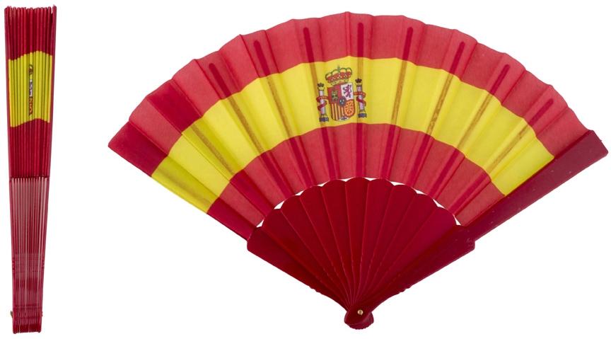 Eventail en plastique espagne soir e deux ou entre amis dans une ambiance et une d co original - Image drapeau espagnol a imprimer ...