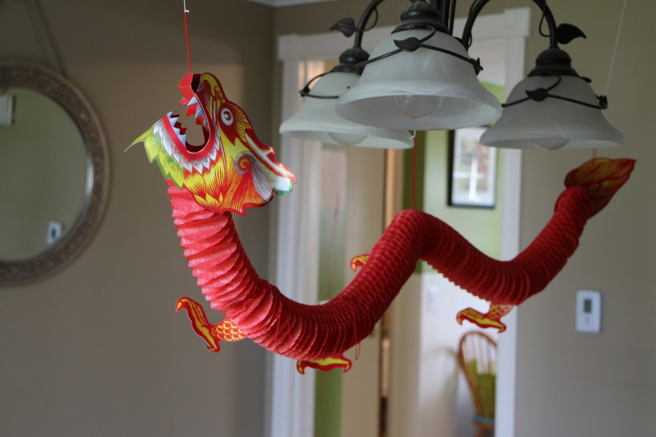 SUSPENSION DRAGON PAS CHER DECO CHINE