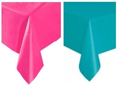nappe en plastique fuschia ou turquoise x m tres soir e deux ou entre amis dans. Black Bedroom Furniture Sets. Home Design Ideas